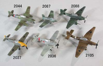 1/200 scale aircraft models